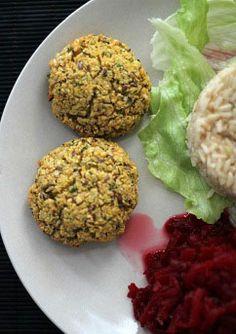 Zdrowe Odżywianie - Dietetyczne Przepisy Kulinarne: Ekspresowe kotleciki z ciecierzycy czyli FALAFELE (w wersji pieczonej!)