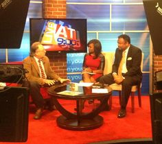 Memphis artist Tom Foster talks with Channel 3 anchors Marcova Reed & Alex Coleman about his art exhibit 'Vanishing Memphis.'