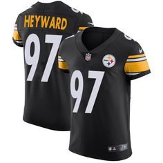 Nike Steelers  97 Cameron Heyward Black Team Color Men s Stitched NFL Vapor  Untouchable Elite Jersey ff4b1c58f