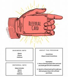 15 Examples Of Referral Card Ideas And Quotes That Work With
