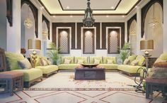 Oriental men's majles (Andalusian style) on Behance