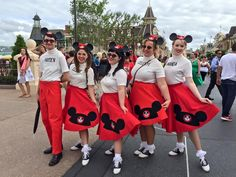 The Mickey Mouse Club out at Dapper Day, Magic Kingdom.