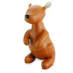 Kangaroo Bookend Tan now featured on Fab.