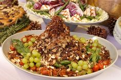 salada de bacalhau e lentinhas