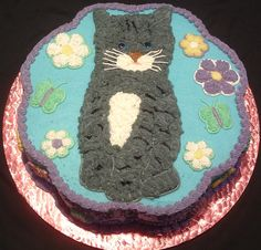 Best Designs For Cat Decorative Cakes Birthday Cake For Cat, Birthday Party Themes, Birthday Cakes, Cat Cake Image, Cute Cat Face, Dog Cookies, Cake Images, Themed Cakes, Cake Decorating
