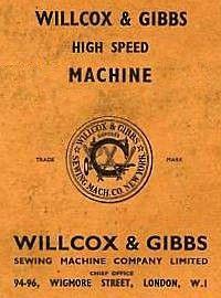 WILLCOX & GIBBS ad