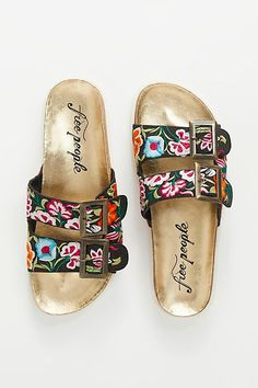 Bali Footbed Sandal | Free People - The latest in Bohemian Fashion! These literally go viral!