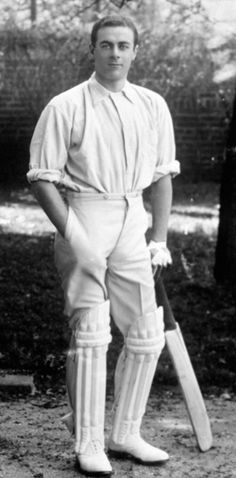 17 Warren Bardsley, 1926, 2-0-0-2. Bardsley became the first Test cricketer to score a century in both innings of a single Test match. He was 43 years old when he made his last Test tour of England in 1926. After captain Herbie Collins was felled by illness after the Second Test, the captaincy duties fell on Bardsley despite his inexperience in that field.