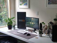 Pc Setup, Room Setup, Gaming Computer Setup, Home Office Setup, Workspace Inspiration, Game Room, Room Decor, Change, Workspaces