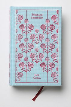 After watching Pride & Prejudice today, I want to read every Jane Austen book! This one is beautiful :) Great for my future library -Jane Austen