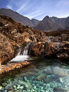 Fairy Pools, Glenbrittle, Isle of Skye, Scotland. Photo by Vega59