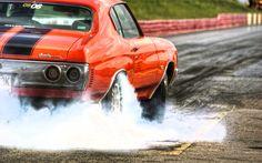 Chevy Chevelle Burnout