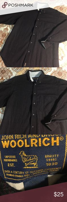 Woolrich Longsleeve Button Down Flannel Shirt Size fits an XL - Excellent condition Woolrich Shirts Casual Button Down Shirts