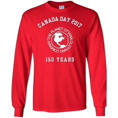 2017 Canada Day LS T-Shirt
