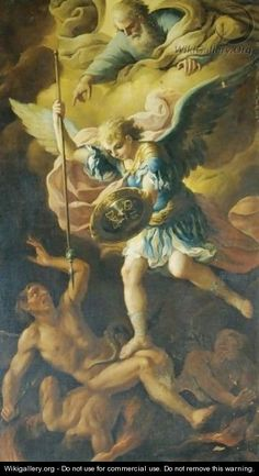Saint Michael Defeating Satan
