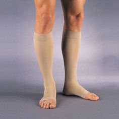 18f2d9201 Jobst Relief Open Toe Knee Highs - 30-40 mmHg Petite Compression Knee High  Stockings Petite JOB114032-P