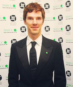 Benedict Cumberbatch. I think this may be his natural color but no one actually knows. I don't even think he knows anymore