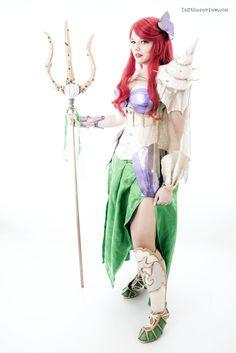 Armored Ariel / Warrior Ariel Cosplay. The little mermaid, disney. By Dewnor Cosplay