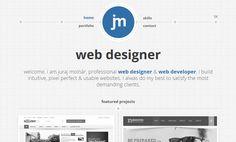 Web designer Juraj Molnár