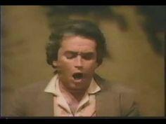 """Una furtiva lagrima,"" Donizetti's ""L'Elisir d'amore,"" Jose Carreras, 1982. Close-ups are spectacular."