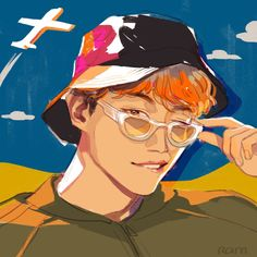 Otaku Anime, Anime Art, Jungkook Selca, Simple Cartoon, Fanarts Anime, Bts Lockscreen, Kpop Fanart, Webtoon, Daydream