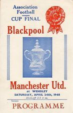Blackpool v Manchester United 1948 FA Cup Final 24.4.1948 Pirate Copy