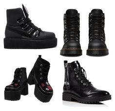 """ботинки"" by artloginovs on Polyvore featuring мода, Puma, T.U.K. и Kendall + Kylie"