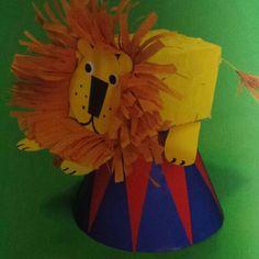 3d knutsel: leeuw