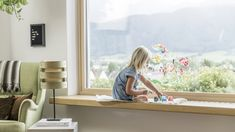 Give children space for creativity. Big Windows create open and light-flooded spaces for more visions. Timber Windows, Big Windows, Kid Spaces, Restoration, Blog, Inspiration, Creative, Children, Home