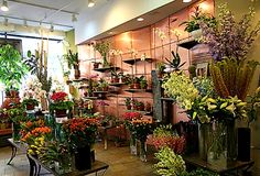 magical shops | Flower shop interior design in a New York florist