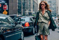 Tags Monochromatic, Military, Metallic, SS14 Women's, Ece Sukan, Sunglasses, Skirts, Bags, Women, Green, New York