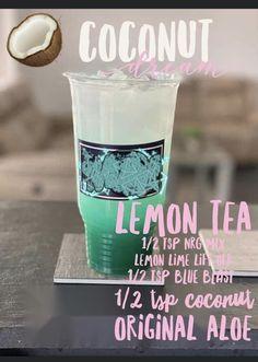 Herbalife Meal Plan, Herbalife Shake Recipes, Herbalife Nutrition, Nutrition Club, Nutrition Drinks, Pink Drink Recipes, Tea Recipes, Coconut Tea, Smoothie Drinks