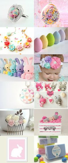 Oh, hello... fresh, light, happy SPRING by Zuzana on Etsy--Pinned with TreasuryPin.com