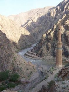 Minaret of Jam - Afghanistan  (Built during the Ghorid Empire 1148 - 1202)