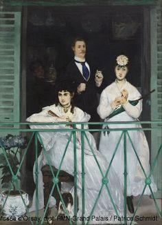 El balcón,1869. Museo de Orsay,Paris.