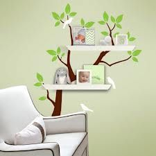 white tree decals for nursery - Google Search
