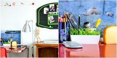 Platone - kartell - desk - basket backboard upcycle