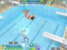 The sims free play you have to pay for the swimsuits they have on