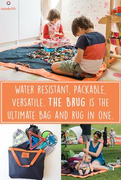 Meet The Brug by Wunderlife: Water resistant, Packable, Versatile. It's the ultimate bag and rug in one for parents! https://www.kickstarter.com/projects/wunderlife/the-brug-from-wunderlife-the-packable-multi-use-ba?ref=7t7vc0 Ad