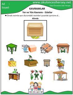 okul öncesi çizgi çalışmaları Preschool Education, Preschool Activities, Turkish Language, Numbers Preschool, Green Books, Prepositions, Speech And Language, Special Education, Kindergarten