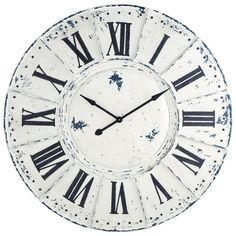 Orologio bianco in metallo D 127 cm SAINT LAZARE