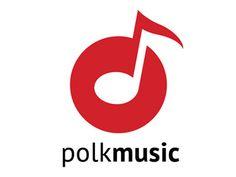 Polk Music Logo by Jay Polk Más