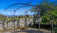 A traditional style iron pergola will give your garden a timeless, classic look, while providing a sheltered space to relax or dine al fresco. Description from metaldesign-furniture.co.uk. I searched for this on bing.com/images