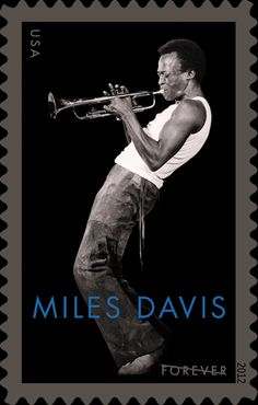kiss my black ads: New Miles Davis Stamp Debuts