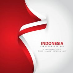 Indonesia independence day vector template design illustration PNG and Vector Independence Day Greeting Cards, 15 August Independence Day, Independence Day Background, Independence Day Quotes, Indian Independence Day, Adobe Illustrator, Holiday Logo, Image Clipart, Flag Vector