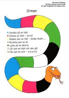 Mariaslekrum - Spelhörnan Swedish Language, Jolly Phonics, Educational Activities For Kids, Speech And Language, Pre School, School Supplies, Kindergarten, Homeschool, Teaching