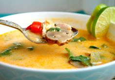 How to Make The Best Thai Coconut Soup - Coconut meat is very tasty as cooking ingredients and savory flavor that adds taste to the more delicious Thai flavors make this soup irresistible ! This is the best Thai coconut soup that I had. You will not be disappointed with this one ! Serve over rice.