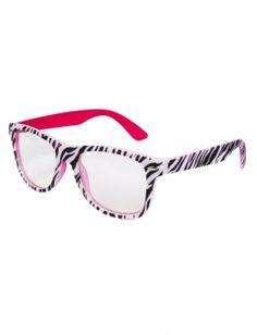 Zebra Nerd Glasses I love these glasses!!! :D
