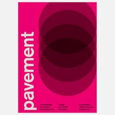 Pavement, 1992, $35, now featured on Fab.