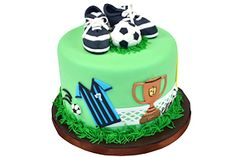 soccer cake @lena bowen